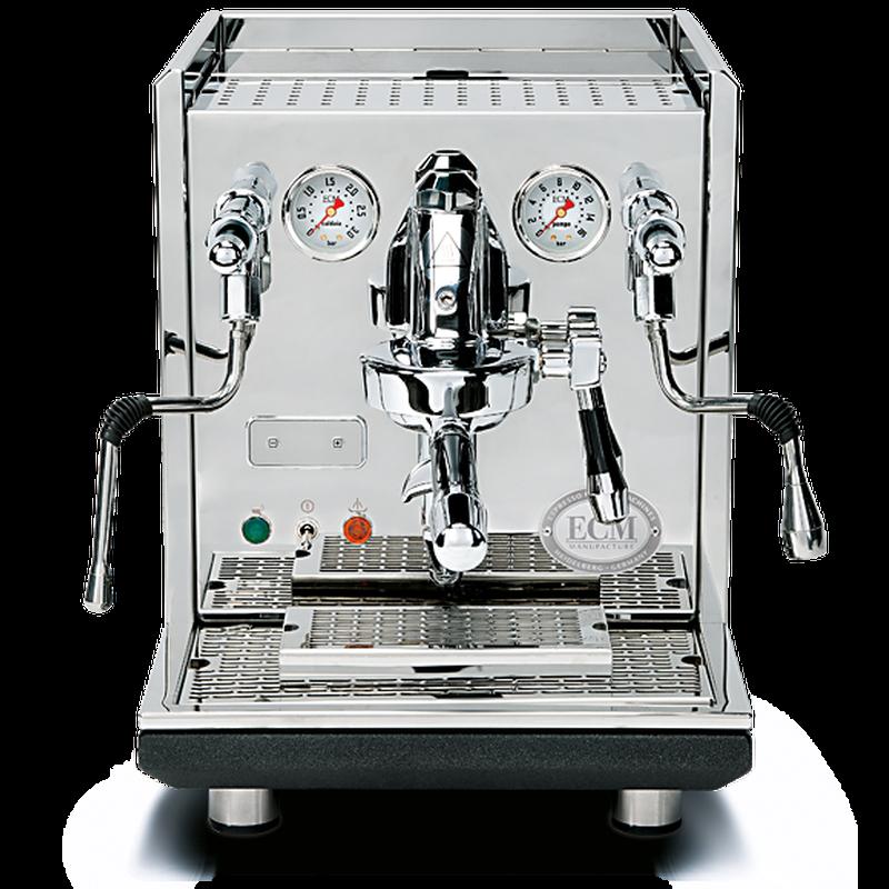 ECM Synchronika Edelstahl Anthrazit Espressomaschine