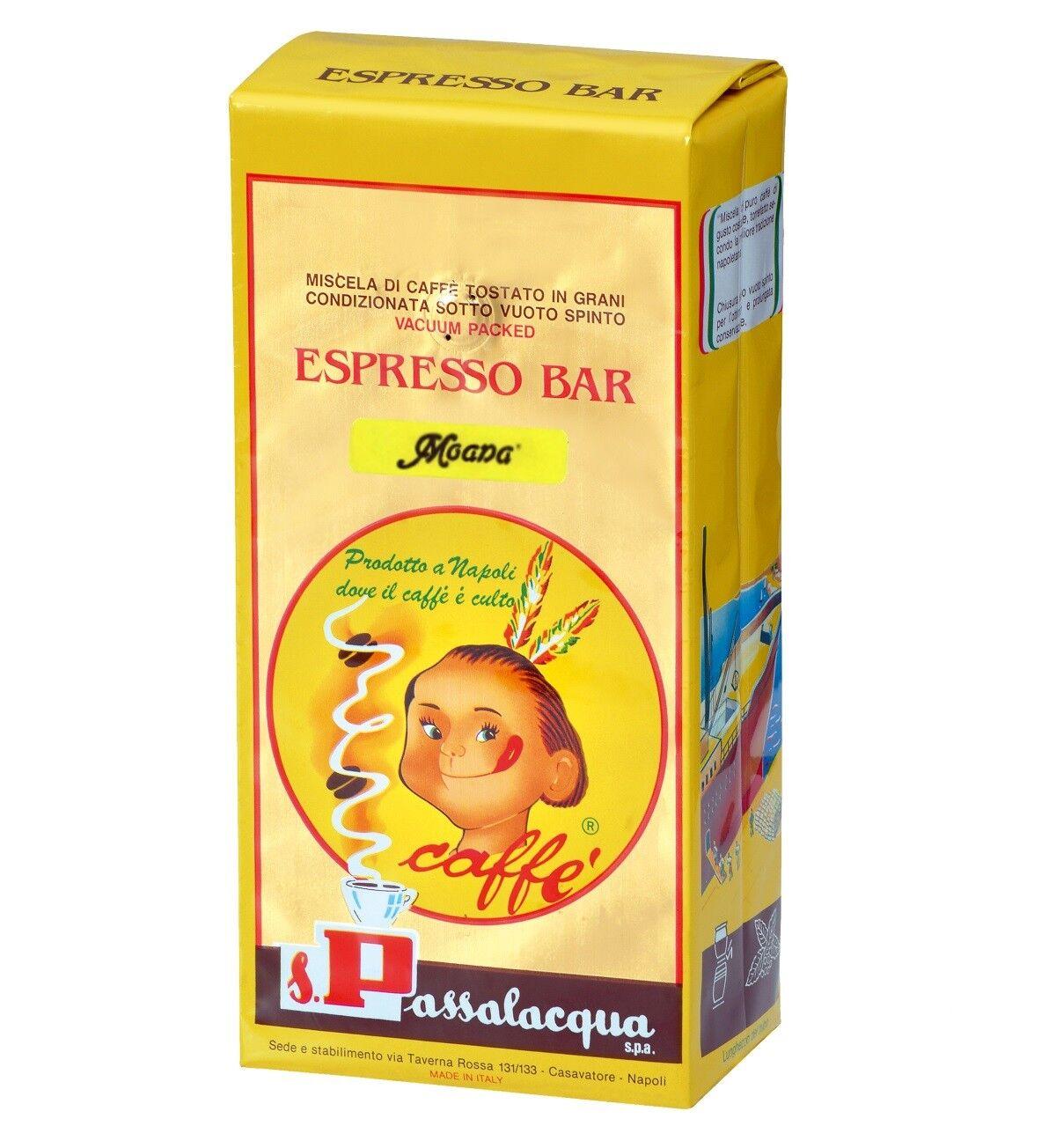 PASSALACQUA Moana 6 X 1 KG Bohnen im Beutel