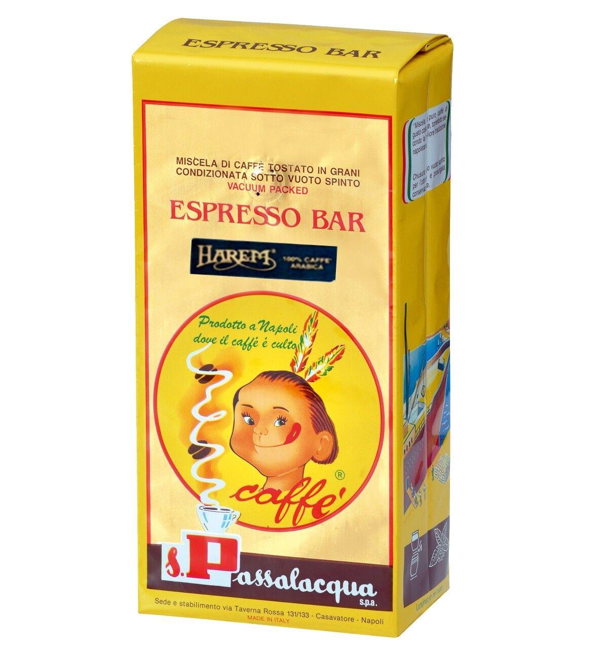 PASSALACQUA Harem 6 X 1 KG Bohnen im Beutel