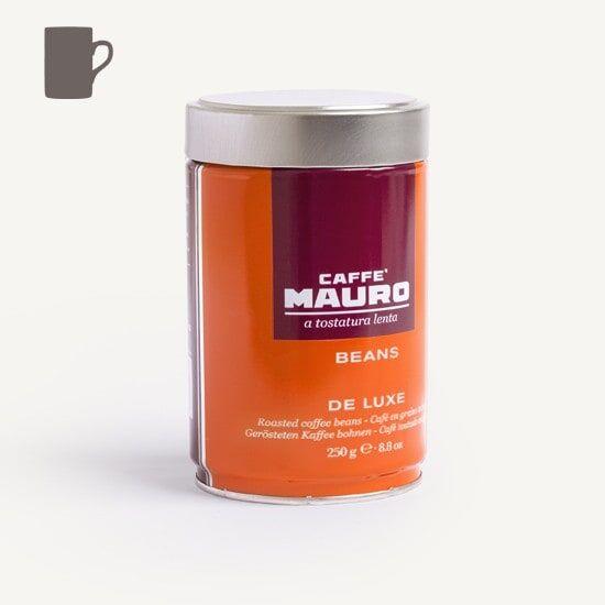 CAFFÈ MAURO Deluxe 250 g Bohnen in Dosen