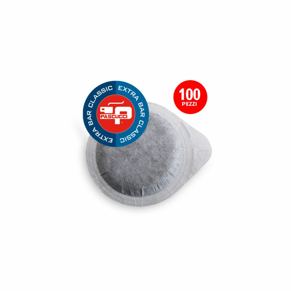 PASCUCCI Extra Bar Classic 1x 100 ESE-Pads je 7 g gemahlen
