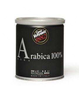 Caffè Vergnano 100% Arabica MOKA 250 g gemahlen, Dosen