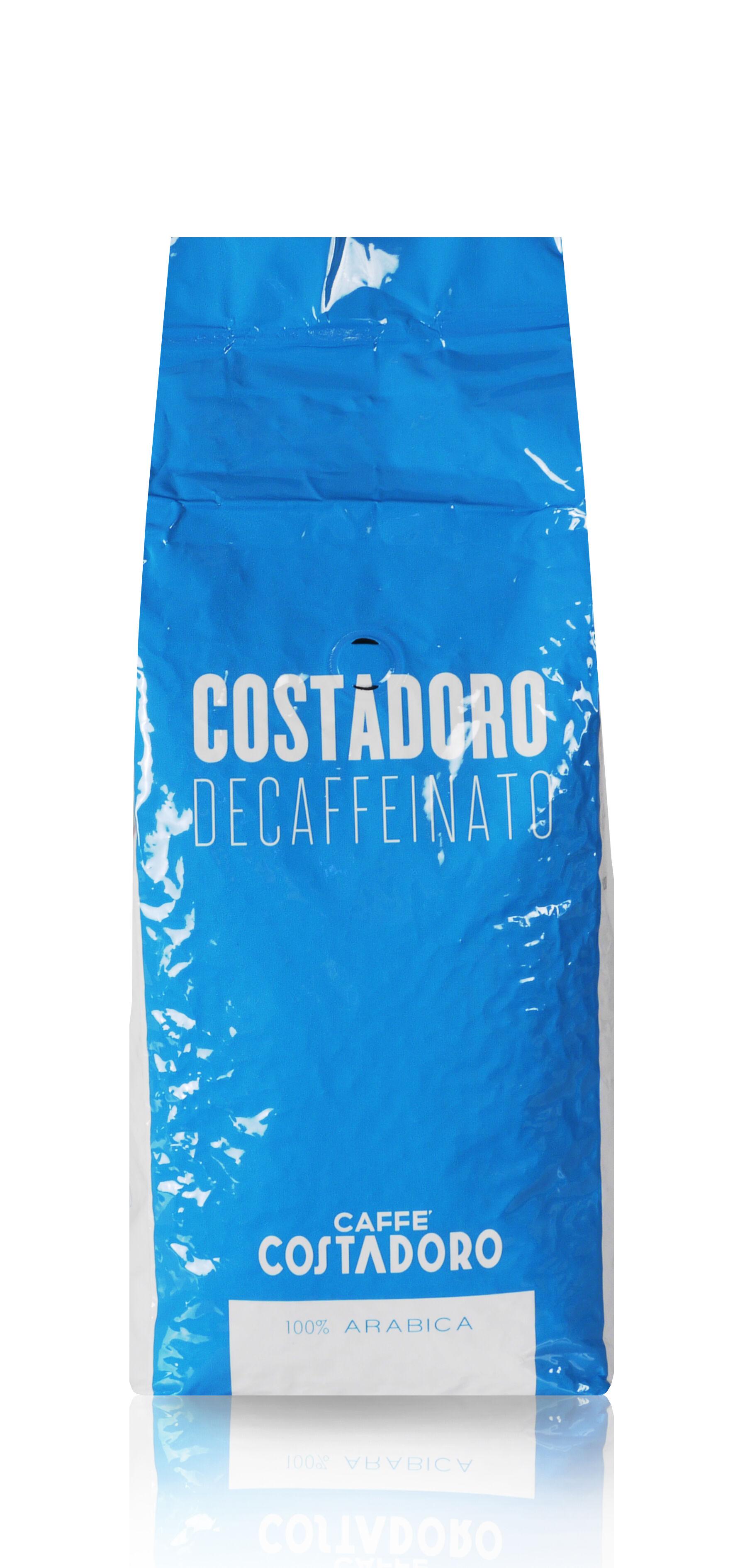 COSTADORO Decaffeinato 1 KG Bohnen im Beutel