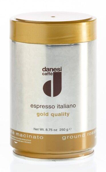 DANESI Espresso ORO 250 g gemahlen in Dosen
