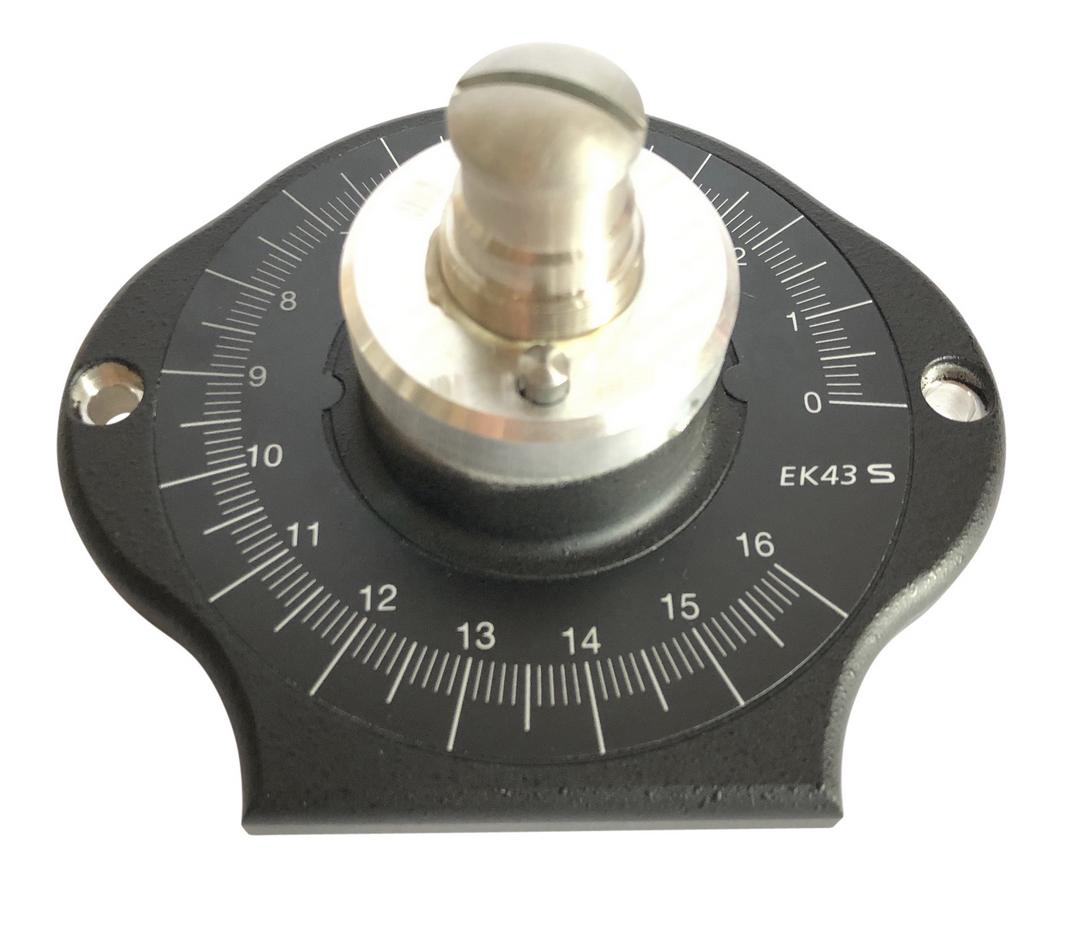 Mahlgehäusedeckel EK43 kpl. vormontiert Kaffee - Mohn - Leinsaat