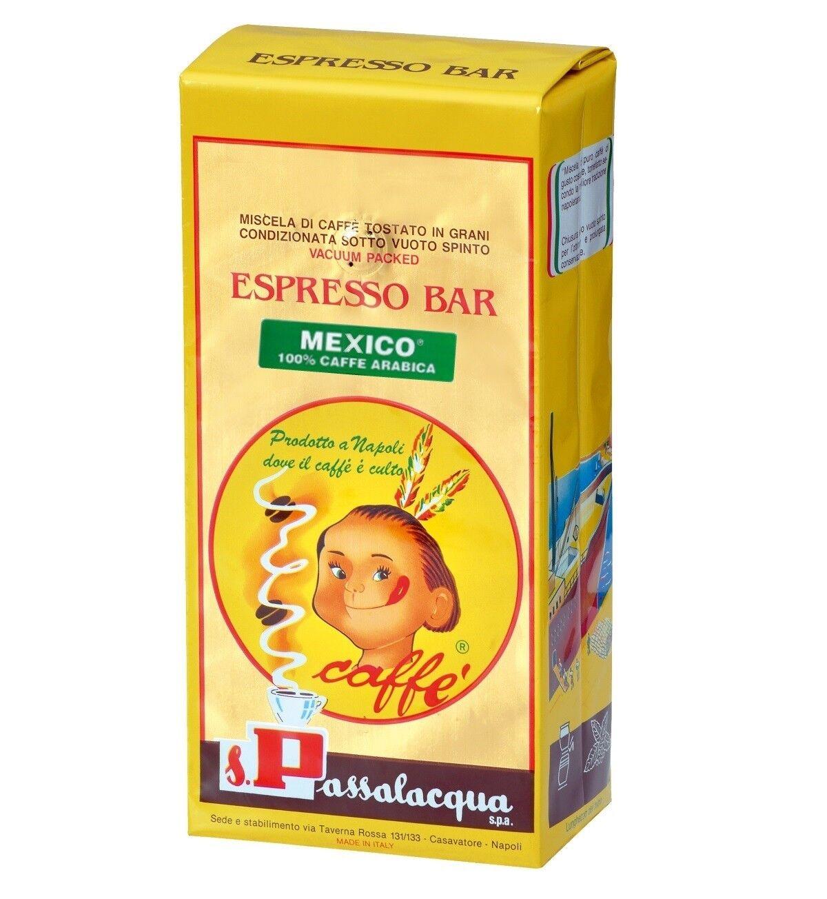 PASSALACQUA Mexico 6 X 1 KG Bohnen im Beutel