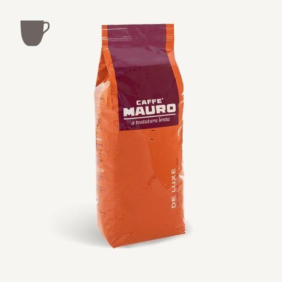 CAFFÈ MAURO Deluxe 1 KG Bohnen im Beutel