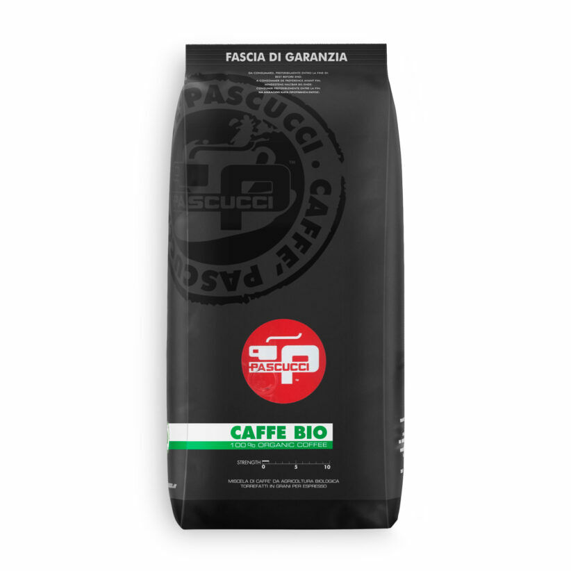 PASCUCCI Caffè BIO - IT BIO 005 - 8 X 1 KG Bohnen im Beutel