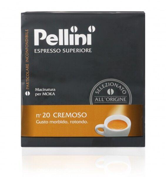 PELLINI N°20 Cremoso 10x 500 g gemahlen und vakuumiert