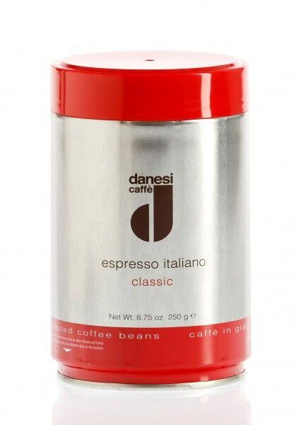 DANESI Espresso Classic 12x 250 g Bohnen in Dosen