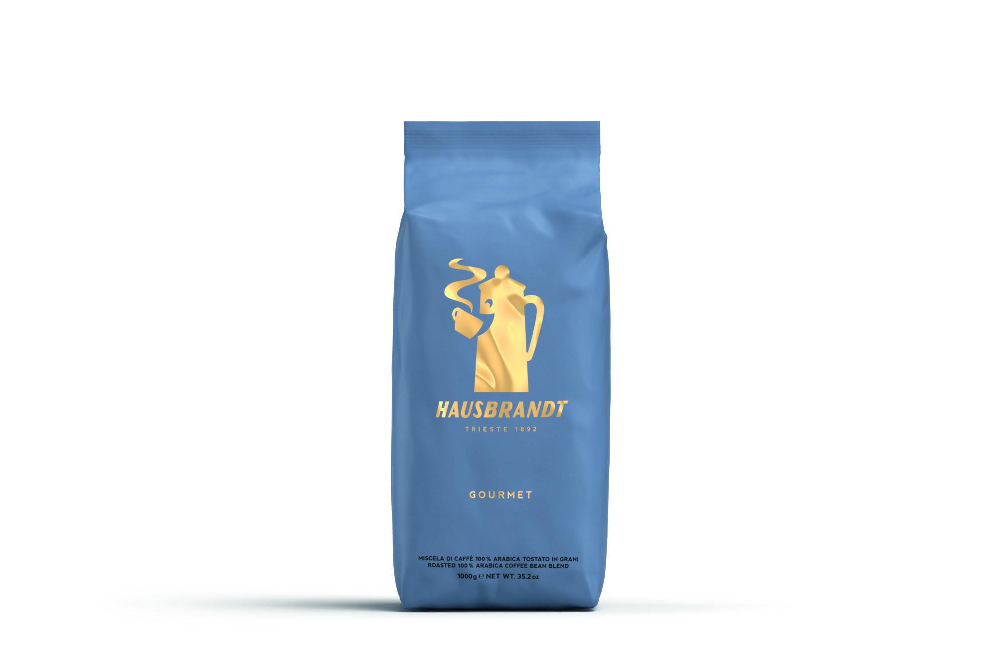 HAUSBRANDT Caffé Gourmet 6 X 1 KG Bohnen im Beutel