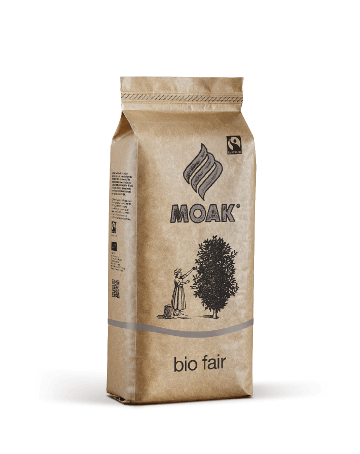 Caffé Moak BIO Fair DE-ÖKO-037 500 g pupiņu maisiņā