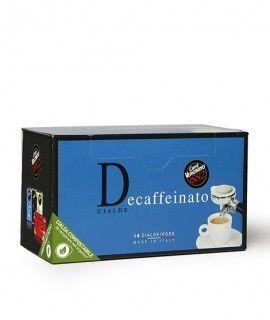 "Caffè Vergnano Decaffeinato ""D"" 6x 18 ESE-Pads je 6,94 g gemahlen"