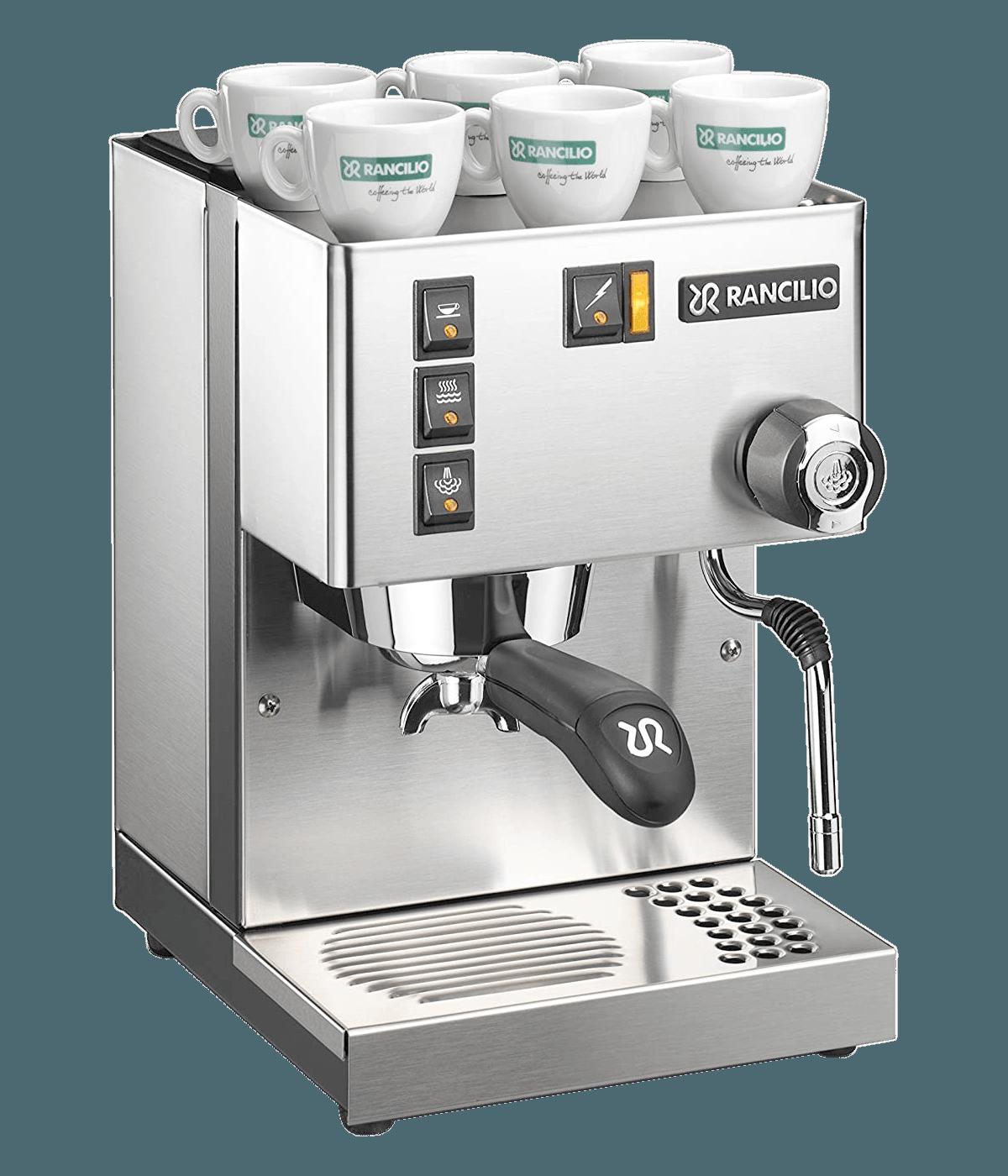 Rancilio Silvia Eco Inox nerūsējošā tērauda matēts Espresso automāts