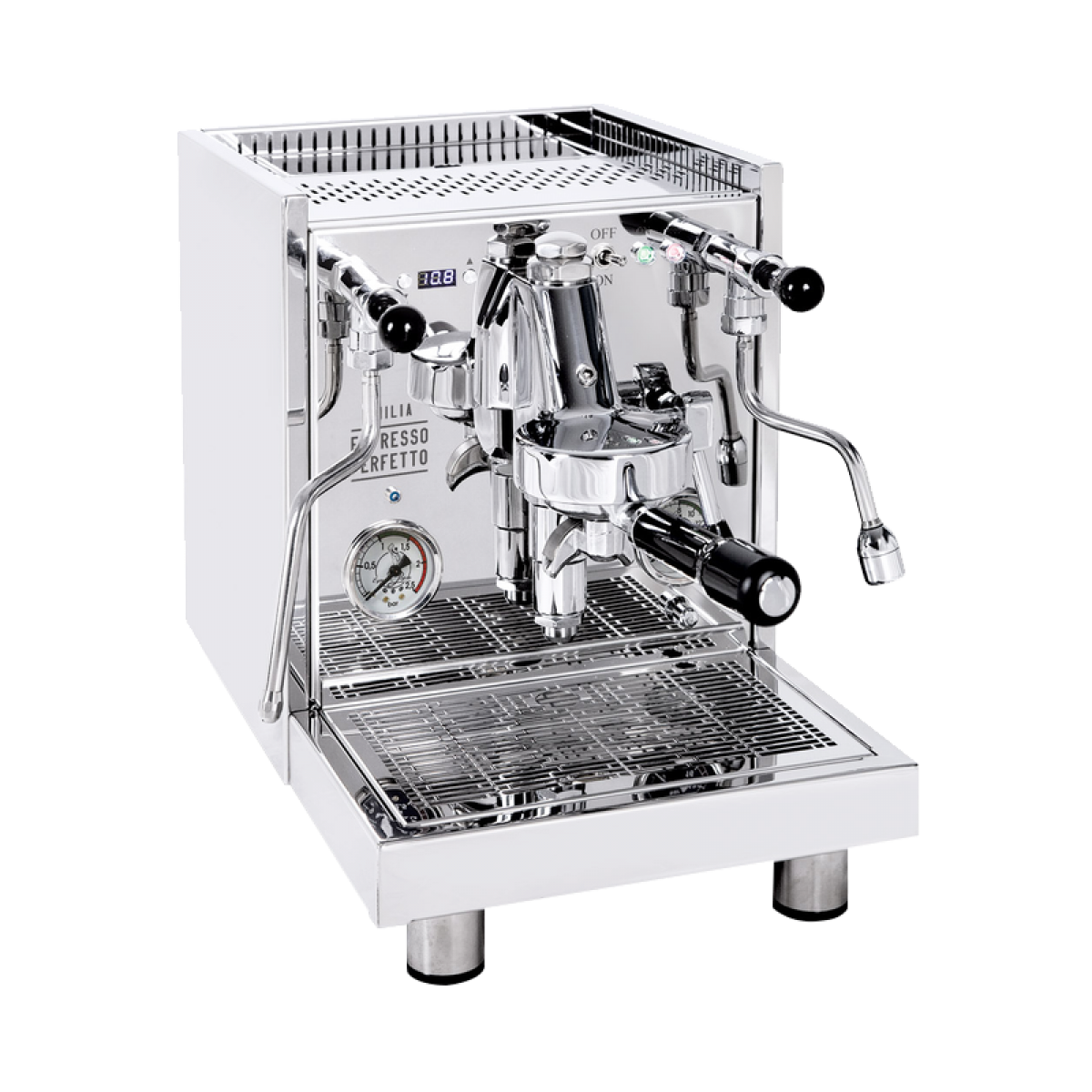 Quick Mill AQUILA 0985-EP Emilia PID Espressomaschine Sonderedition