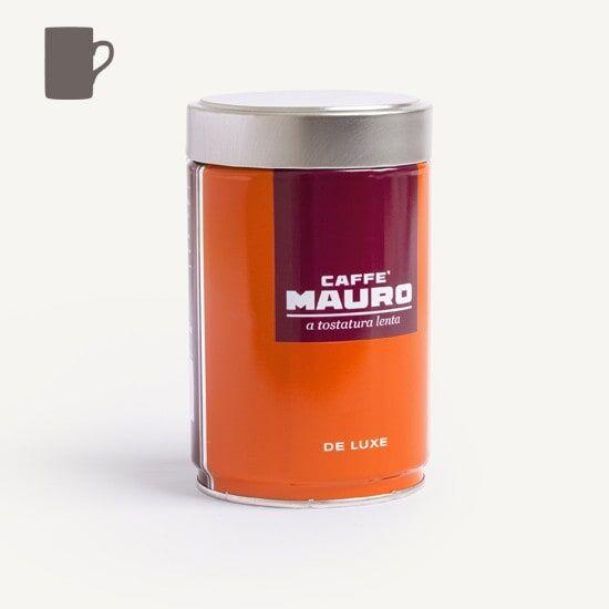 CAFFÈ MAURO Deluxe 250 g Kaffee gemahlen in Dosen
