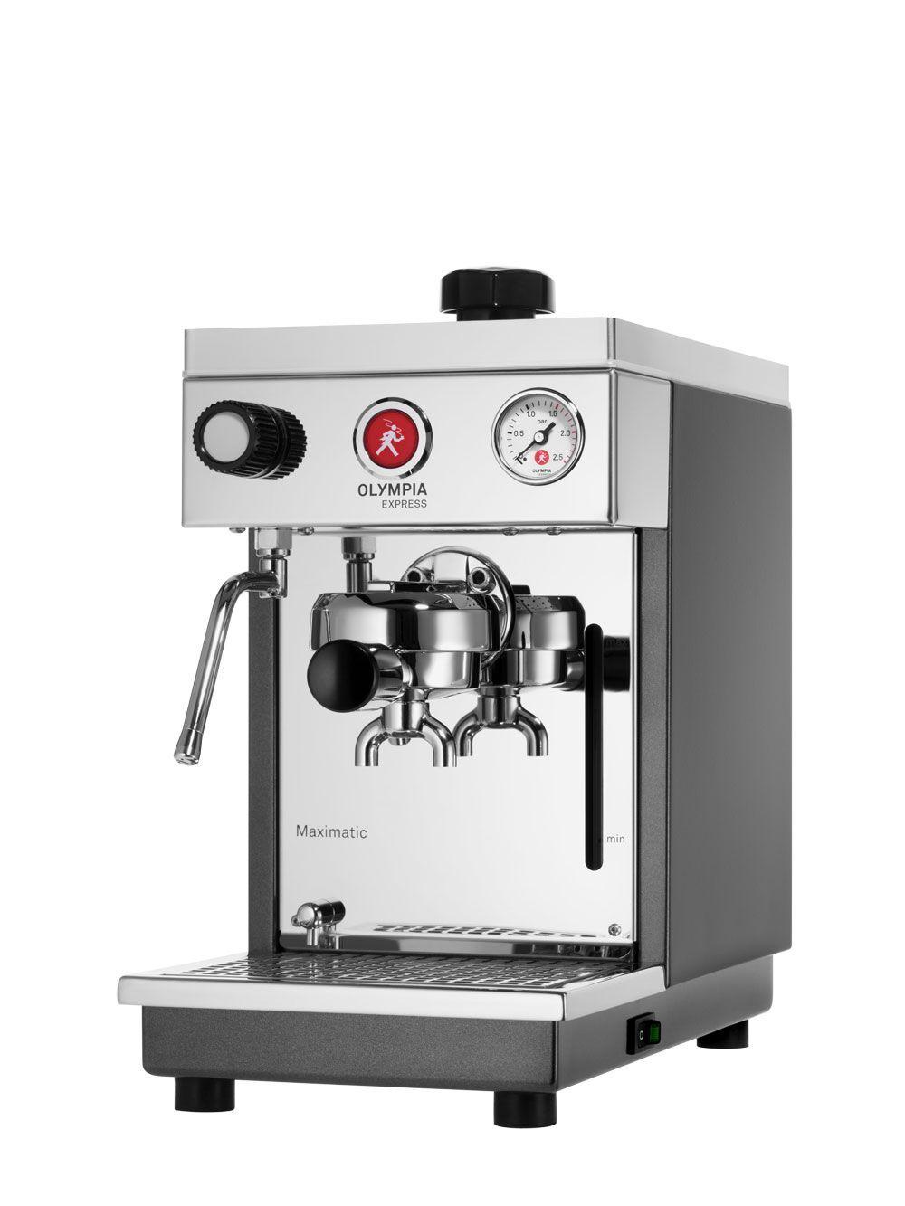 Olympia Express Maximatic Weiß Espressomaschine