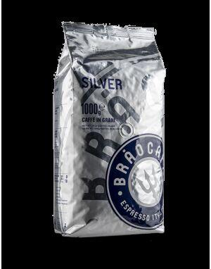Brao Caffé SILVER 6 X 1 KG Bohnen im Beutel