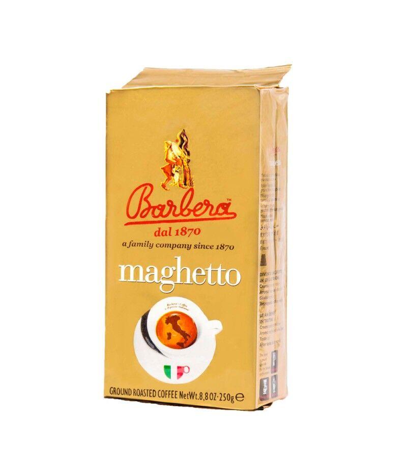 Barbera Caffè Maghetto 24x 250 g gemahlen und vakuumiert