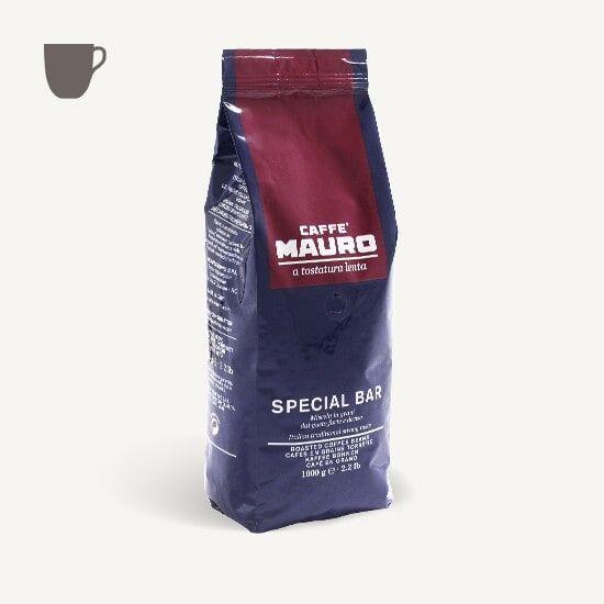 CAFFÈ MAURO Special Bar dark roast 1 KG Bohnen im Beutel