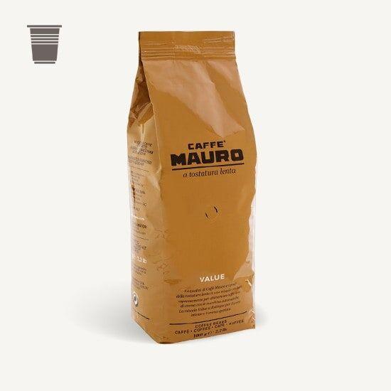 CAFFÈ MAURO Value 1 KG Bohnen im Beutel