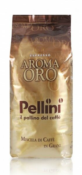 PELLINI Aroma Oro Intenso 6 X 1 KG pupiņu maisiņā