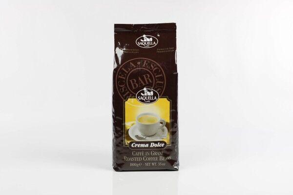 SAQUELLA Crema Dolce Bar 10 X 1 KG pupiņu maisiņā