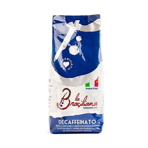 La Brasiliana Decaffèinato (bez kofeīna) 6 X 1 KG pupiņu maisiņā
