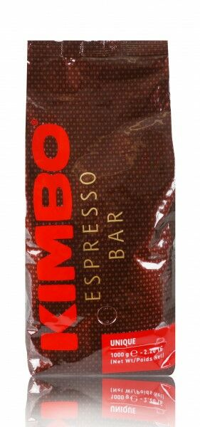 KIMBO Unique 6 X 1 KG Bohnen im Beutel