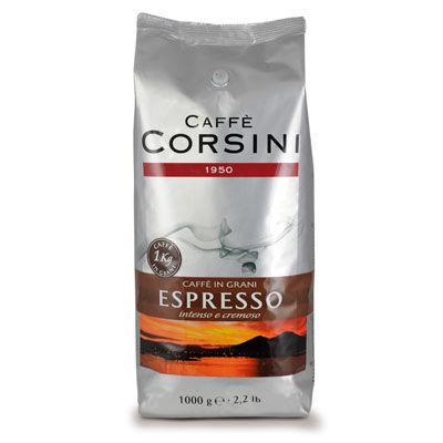 Caffè Corsini Espresso Grani 1 KG Bohnen im Beutel