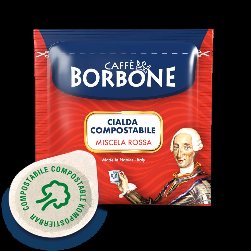 BORBONE Miscela Rossa 100 ESE-Pads je 7,2 g gemahlen