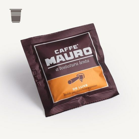 CAFFÈ MAURO Deluxe 150 ESE-Pads je 6,7 g gemahlen