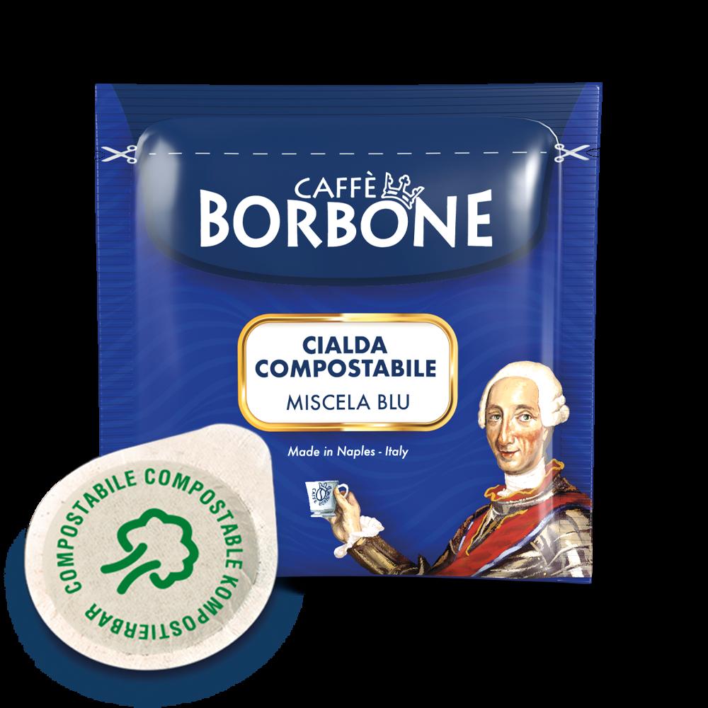 BORBONE Miscela Blu 100 ESE-Pads je 7,2 g gemahlen