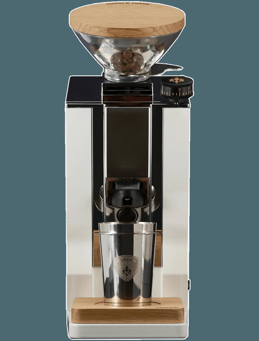Eureka Mignon Single Dose Weiß Espressomühle