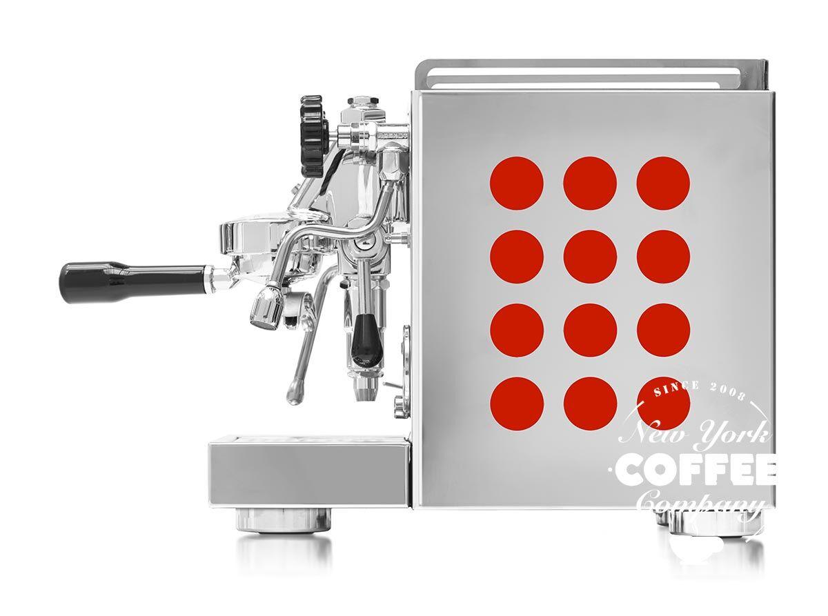 Rocket Appartamento Espressomaschine Rot