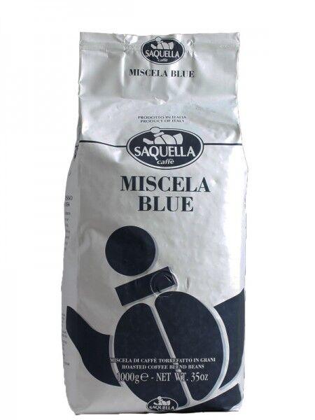 SAQUELLA Espresso Miscela Blue 10 X 1 KG Bohnen im Beutel