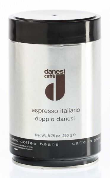 DANESI Espresso Doppio 12x 250 g Bohnen in Dosen