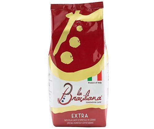 La Brasiliana EXTRA 6 X 1 KG pupiņas maisiņā
