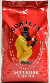 GORILLA Super Bar Crema 12 X 1 KG Bohnen im Beutel