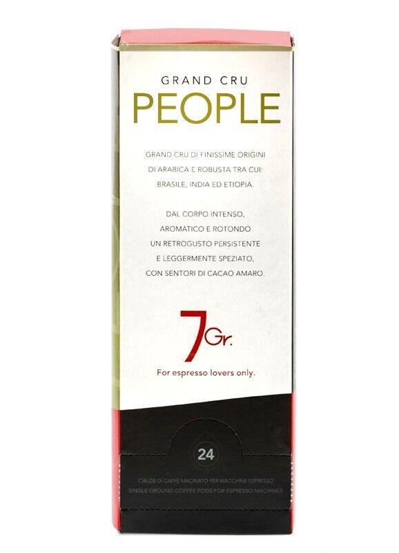 7 GR. PEOPLE COFFEE Grand Cru 24 ESE Pads je 7 g gemahlen