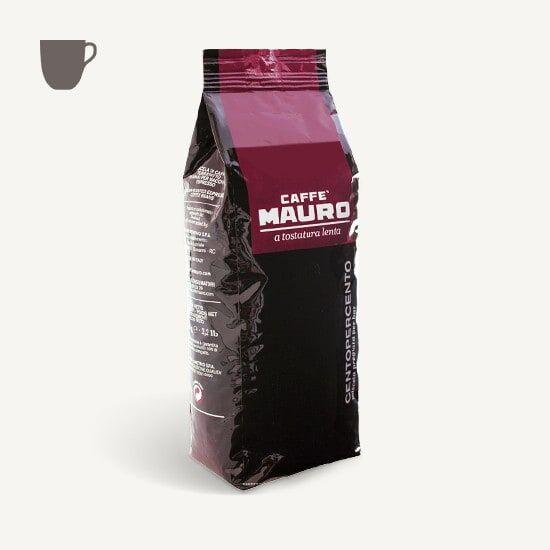 CAFFÈ MAURO Centopercento 1 KG Bohnen im Beutel