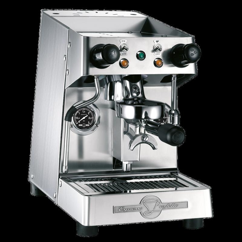 BFC Ela Edelstahl Matt Zweikreis Siebträger Espressomaschine