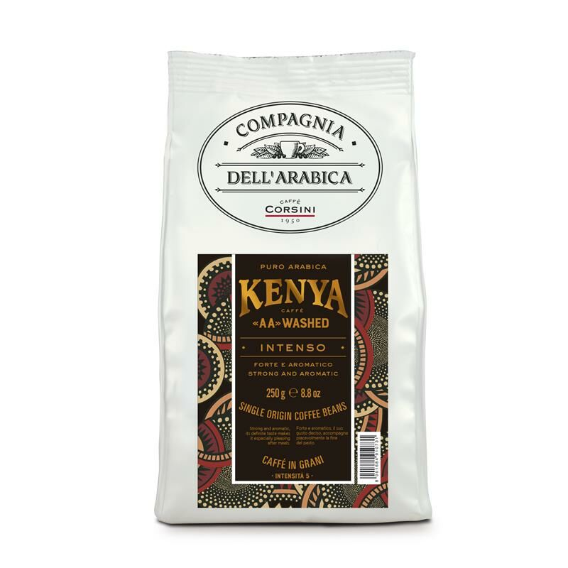 Caffè Corsini Kenya AA-washed - Compagnia Dell'Arabica 12x 250 g Bohnen im Beutel
