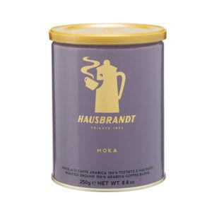 HAUSBRANDT Caffé Moka 12x 250 g gemahlen in Dosen