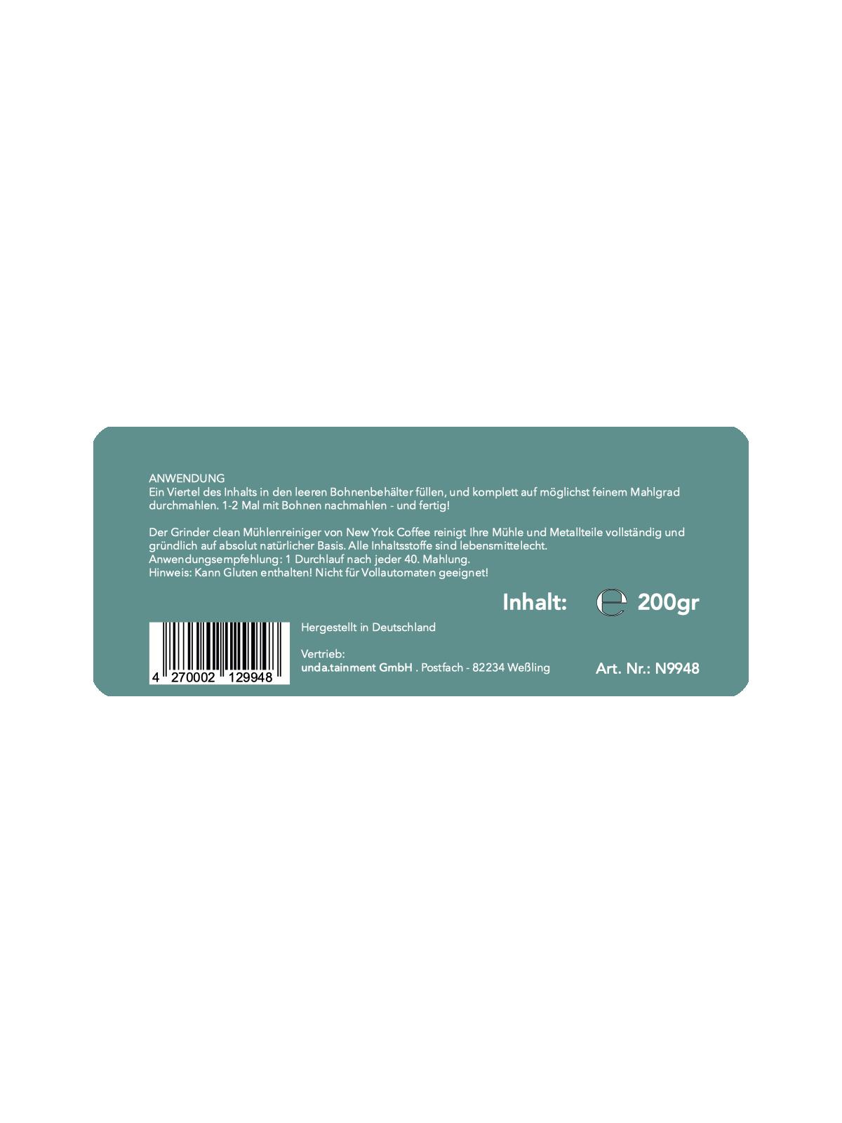 Grinder Clean Mühlenreiniger 200gr