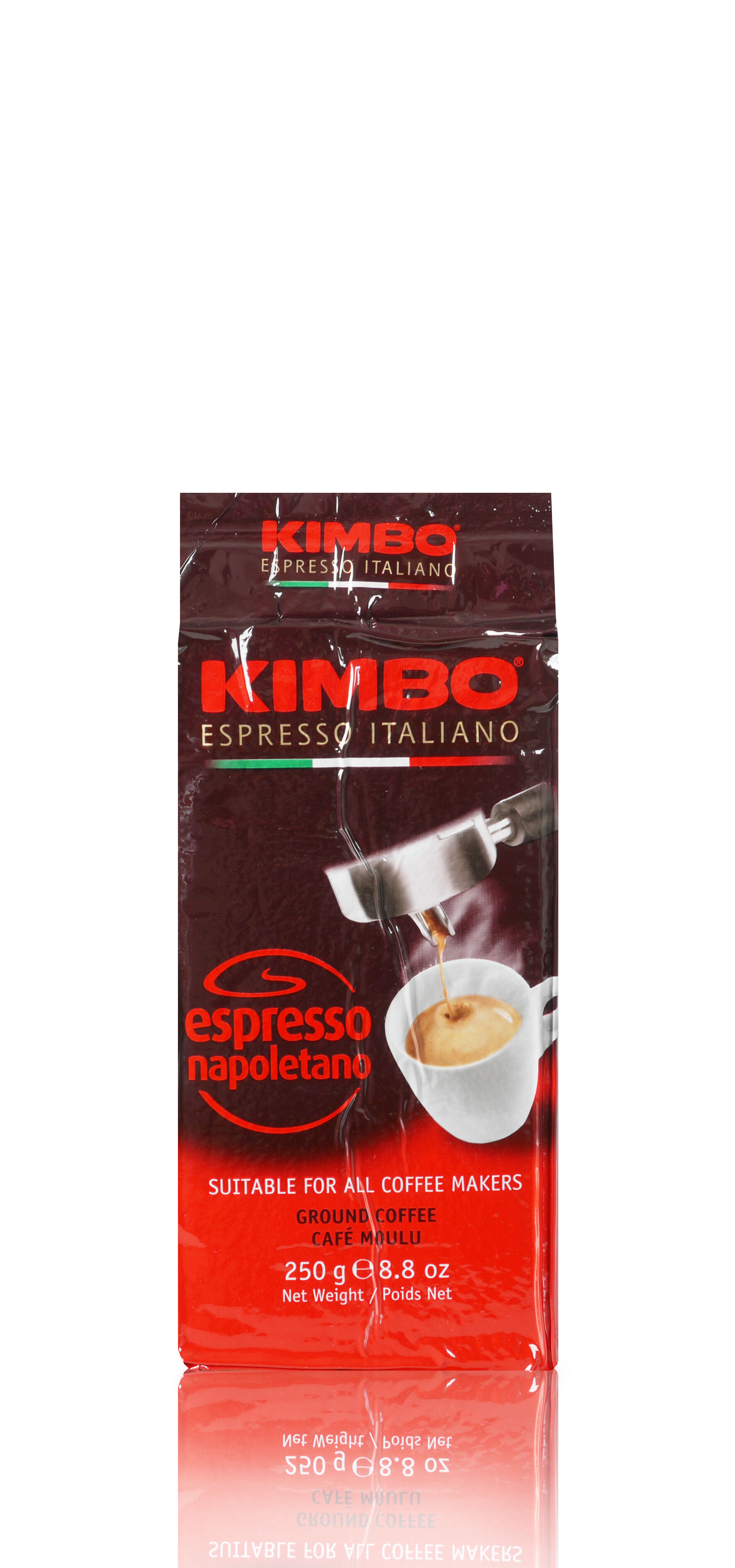 KIMBO Espresso Napoletano 20x 250 g gemahlen und vakuumiert