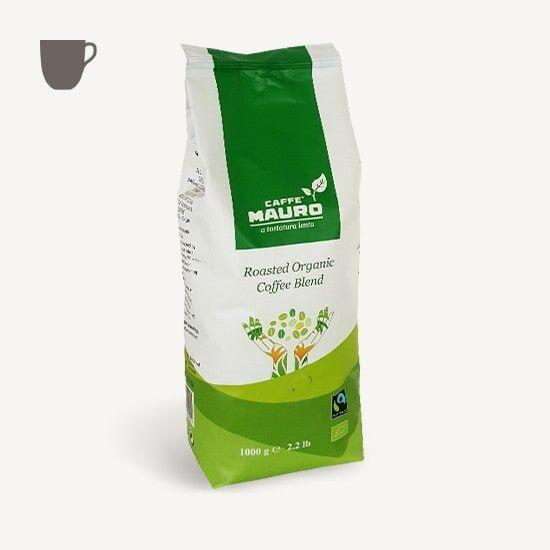 CAFFÈ MAURO 100% Arabica BIO FAIRTRADE - IT BIO 006 - 1 KG Bohnen im Beutel
