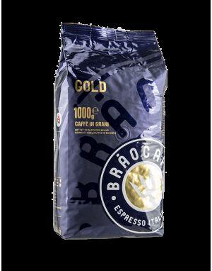 Brao Caffé GOLD 6 X 1 KG Bohnen im Beutel