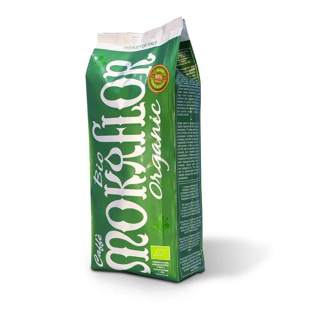 Mokaflor Miscela BIOLOGICA 5x 1 KG Bohnen im Beutel