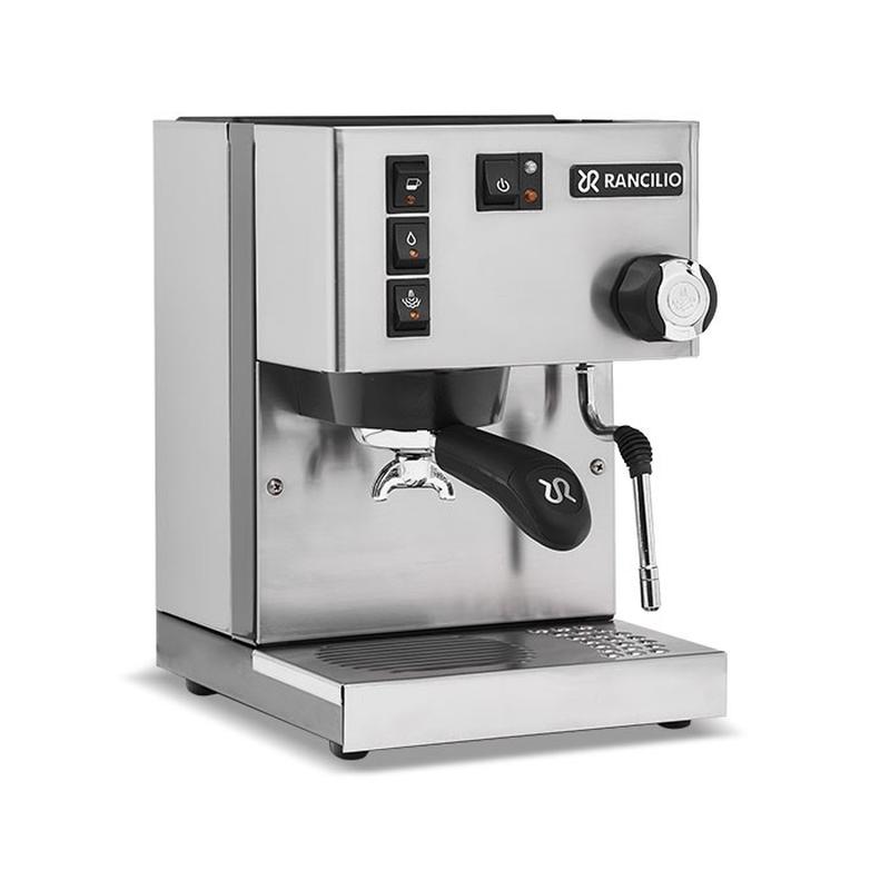 Rancilio Silvia Eco Inox Edelstahl matt Espressomaschine